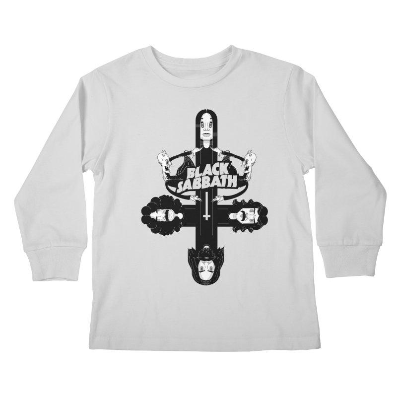 Sabbath Shirt Kids Longsleeve T-Shirt by CHRISRW's Artist Shop