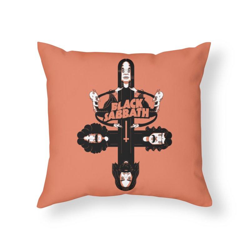 Sabbath Shirt Home Throw Pillow by CHRISRW's Artist Shop