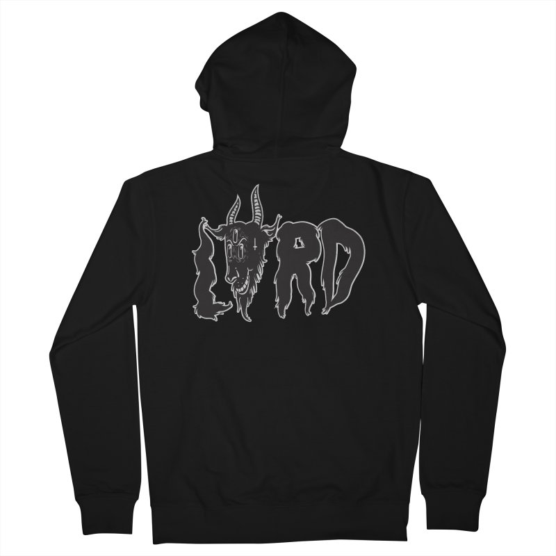 Lord Men's French Terry Zip-Up Hoody by CHRISRW's Artist Shop