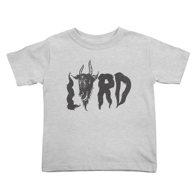 Lord Kids Toddler T-Shirt by CHRISRW's Artist Shop