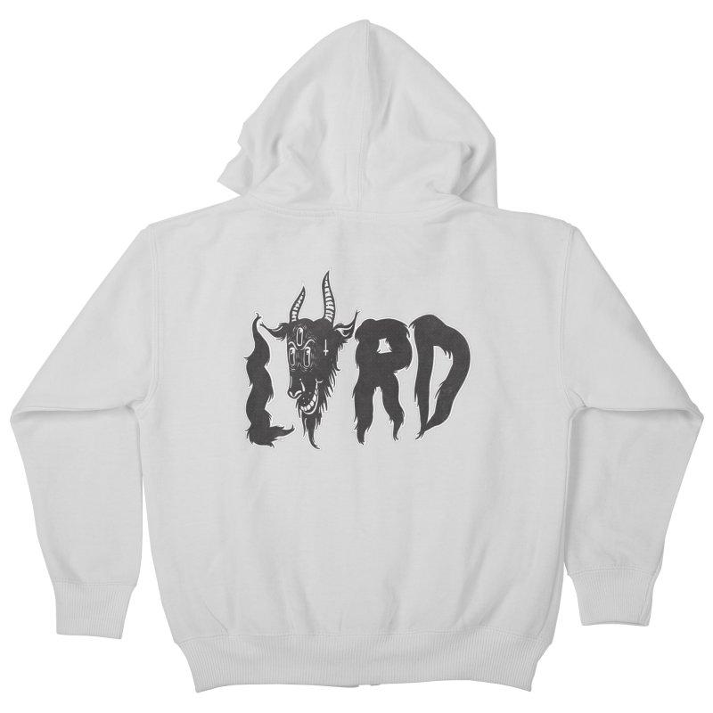 Lord Kids Zip-Up Hoody by CHRISRW's Artist Shop