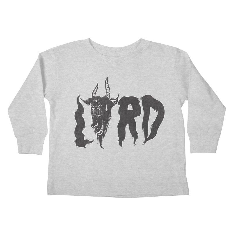 Lord Kids Toddler Longsleeve T-Shirt by CHRISRW's Artist Shop