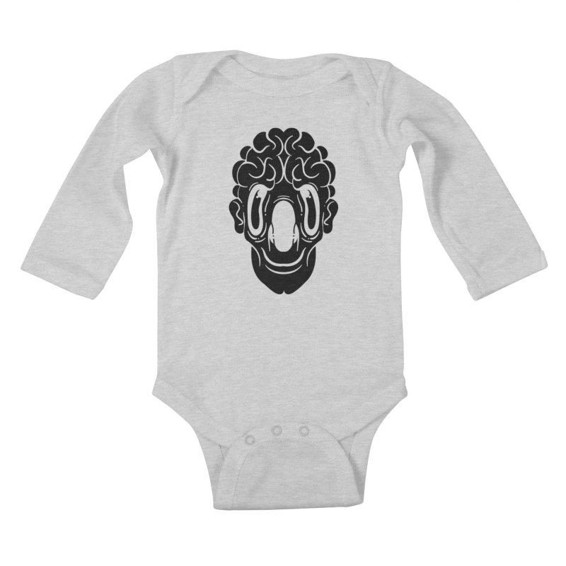 The visitor Kids Baby Longsleeve Bodysuit by CHRISRW's Artist Shop