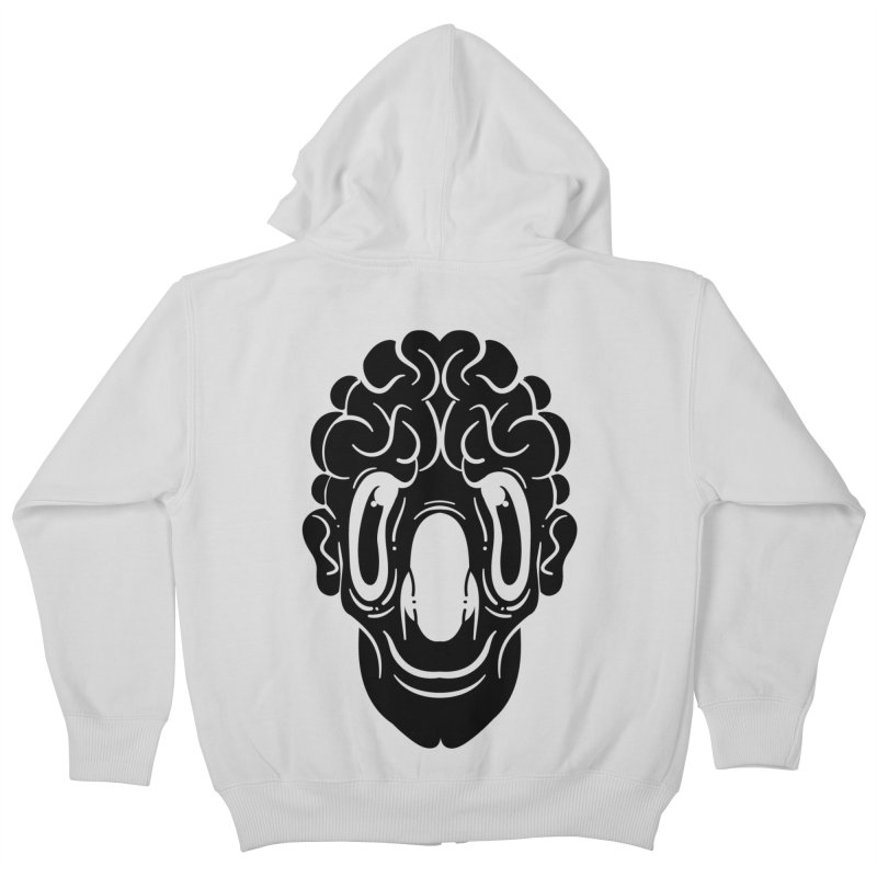 The visitor Kids Zip-Up Hoody by CHRISRW's Artist Shop