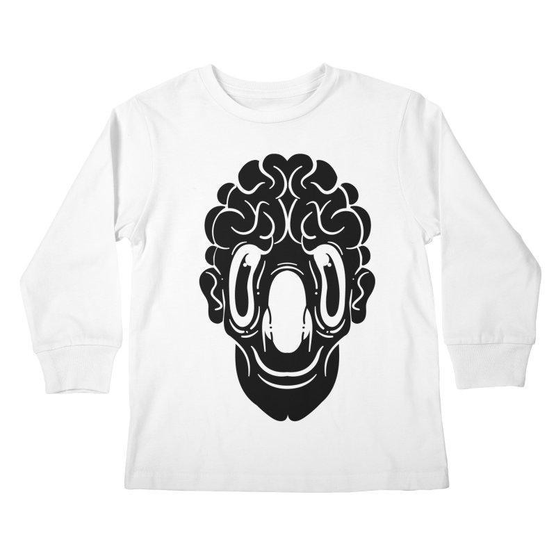 The visitor Kids Longsleeve T-Shirt by CHRISRW's Artist Shop