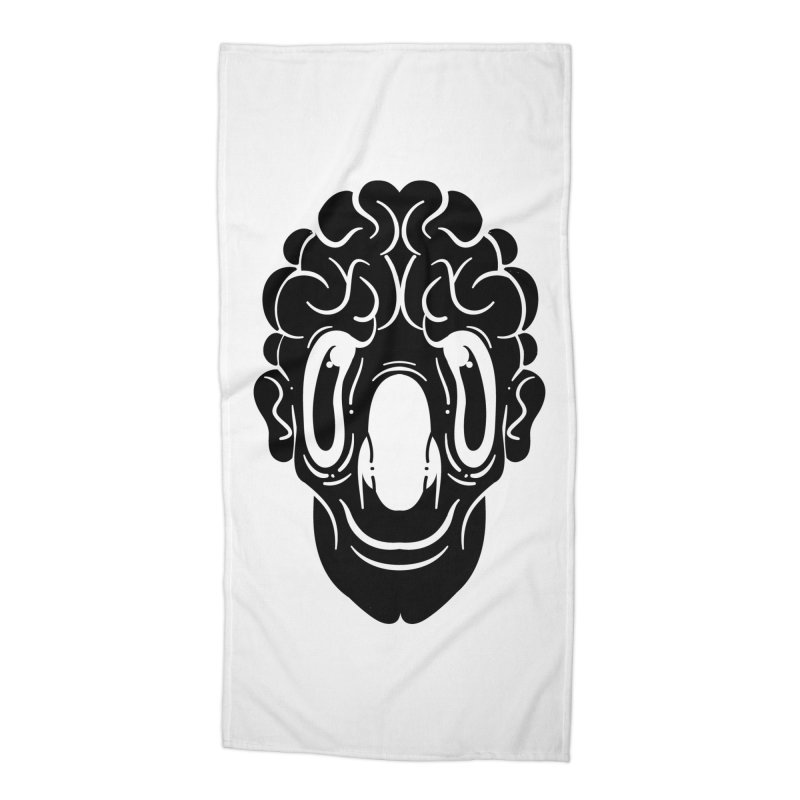 The visitor Accessories Beach Towel by CHRISRW's Artist Shop