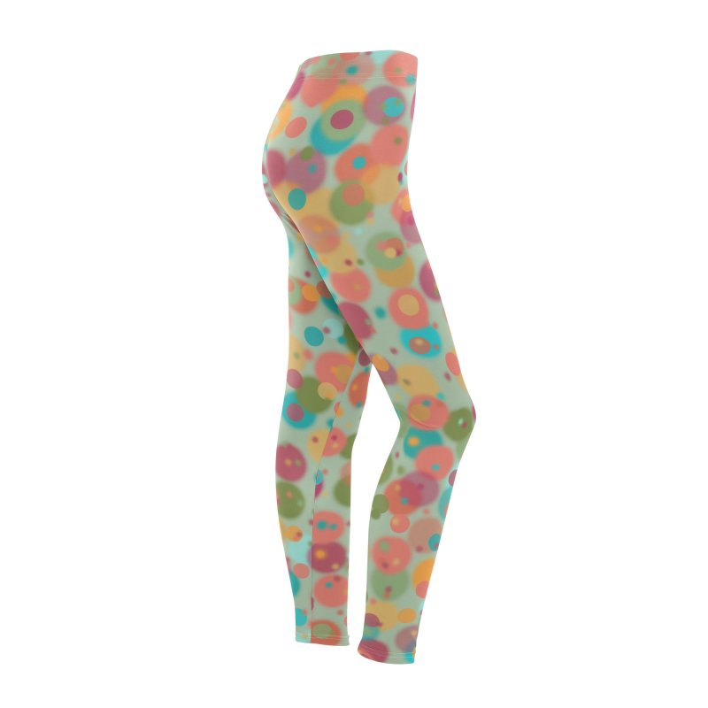 Peacock Polka Dots Women's Bottoms by Christy Leigh Creative