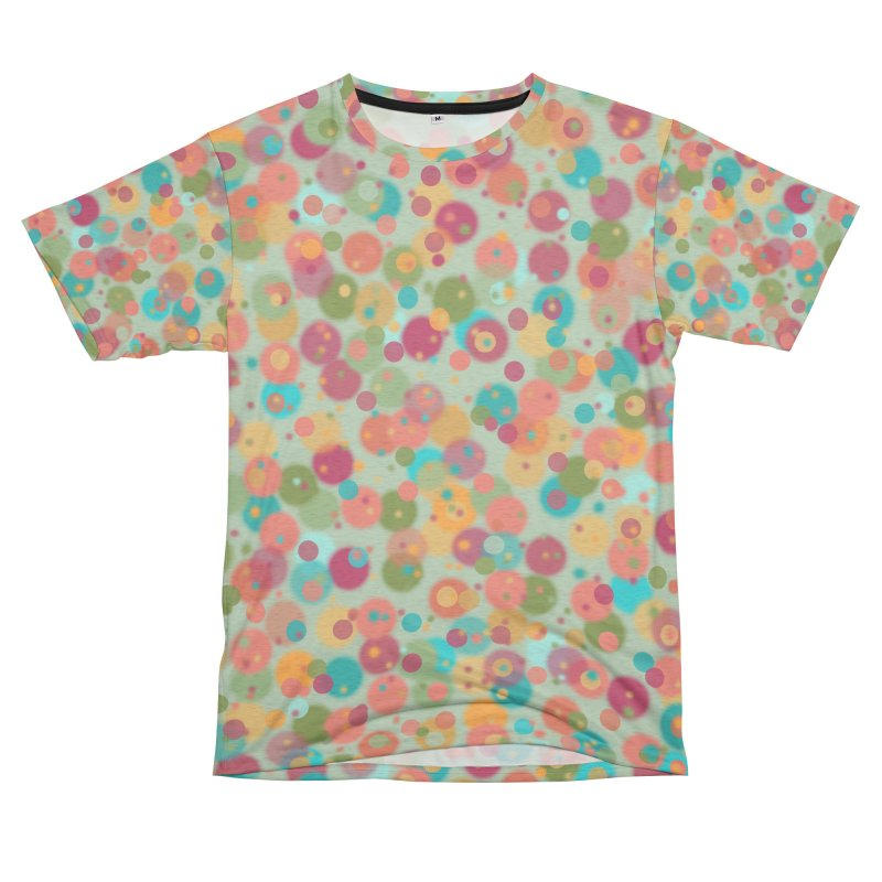 Peacock Polka Dots Women's Cut & Sew by Christy Leigh Creative
