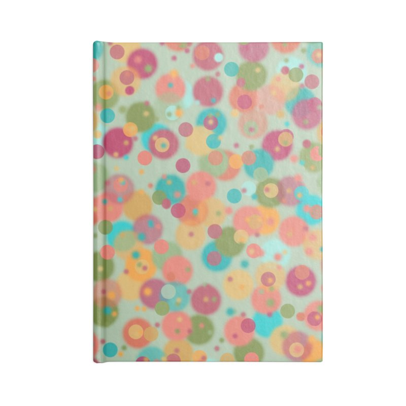 Peacock Polka Dots Accessories Notebook by Christy Leigh Creative