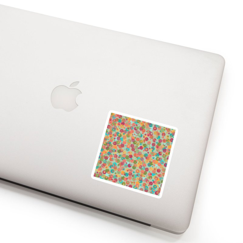 Peacock Polka Dots Accessories Sticker by Christy Leigh Creative