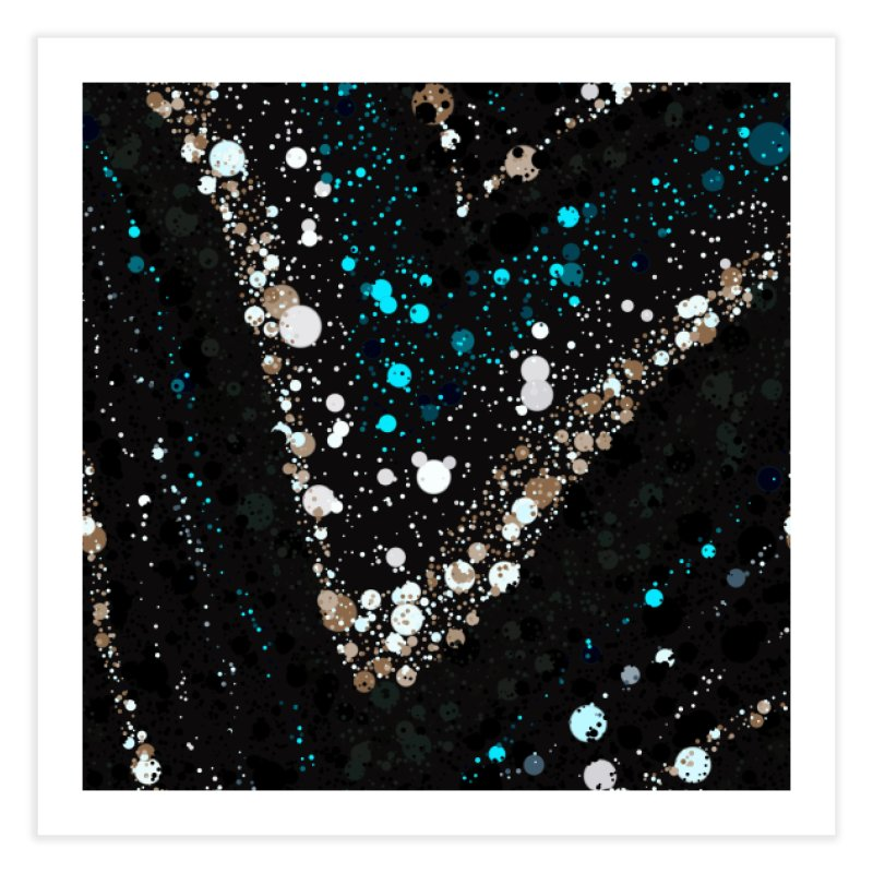 jEWELED Home Fine Art Print by Christy Leigh Creative