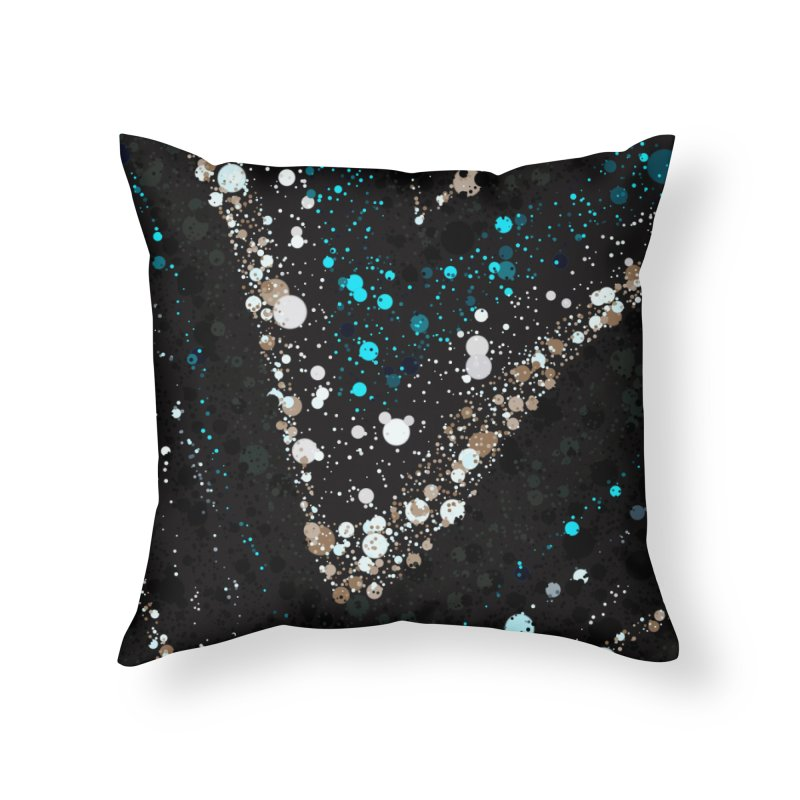 jEWELED Home Throw Pillow by Christy Leigh Creative
