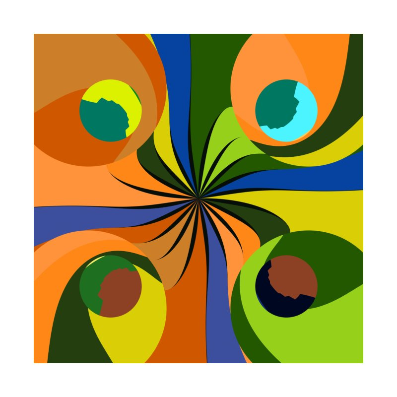 colorful abstract 1 by Christy Leigh Creative