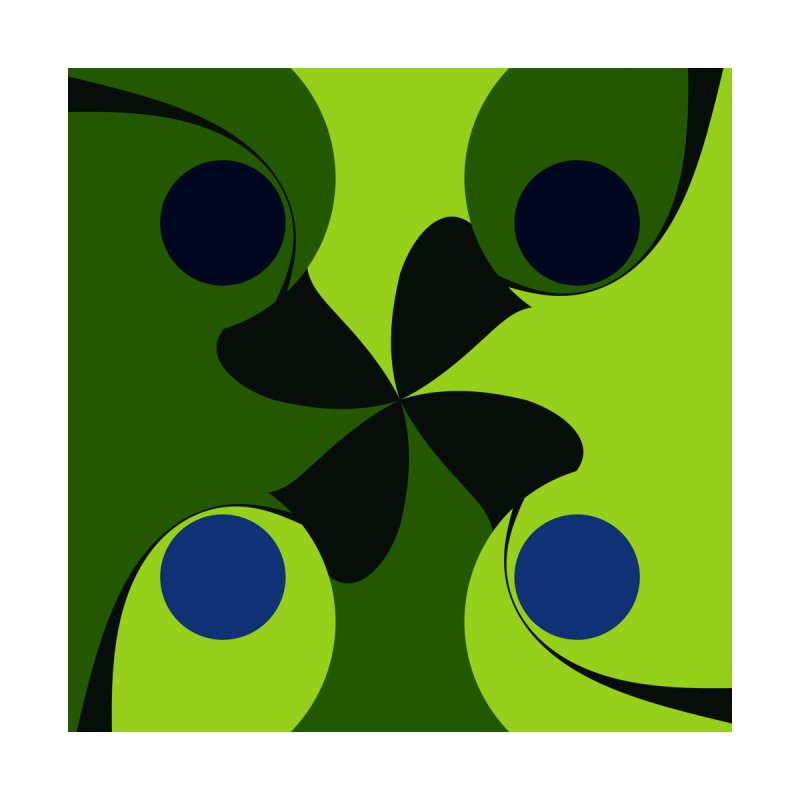 Lucky green and blue by Christy Leigh Creative
