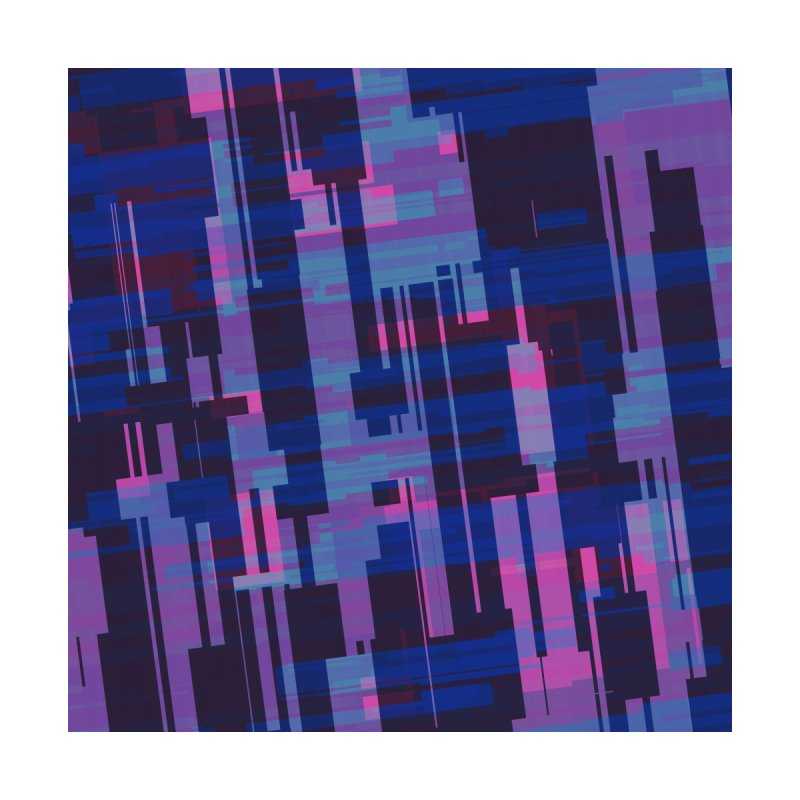 blue purple and pink abstract by Christy Leigh Creative