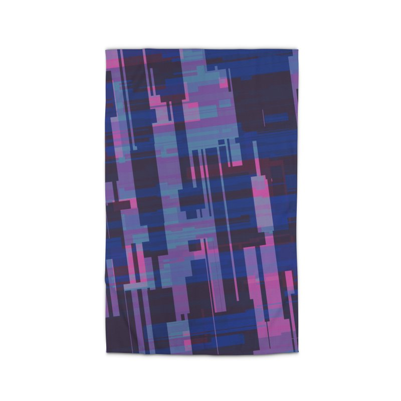 blue purple and pink abstract Home Rug by Christy Leigh Creative