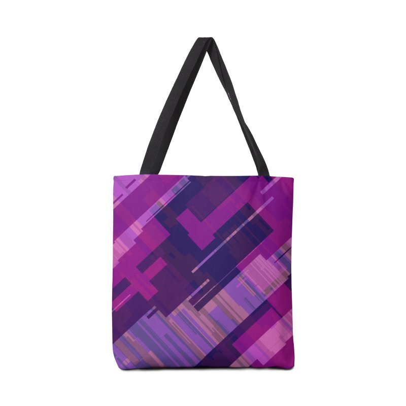 purple abstract Accessories Bag by Christy Leigh Creative