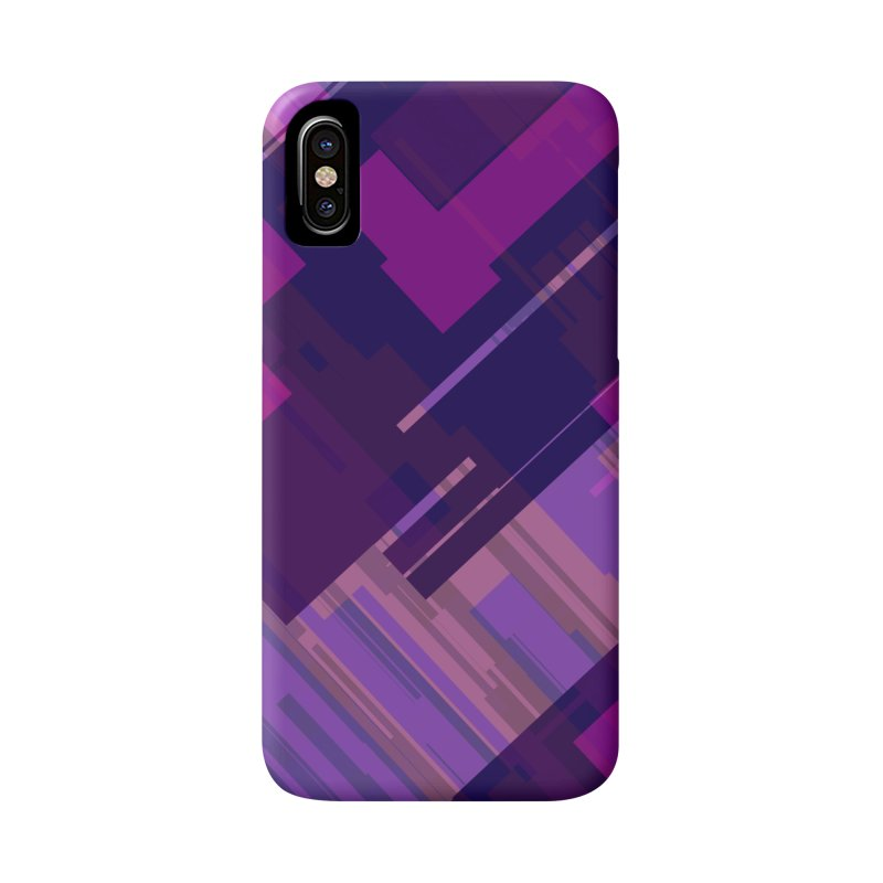 purple abstract Accessories Phone Case by Christy Leigh Creative