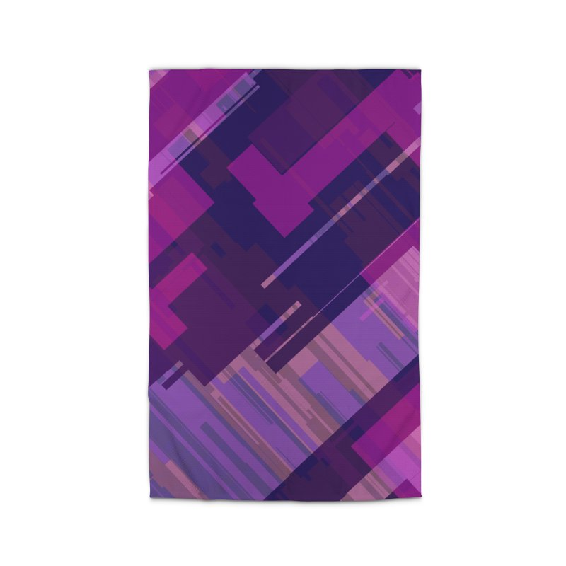 purple abstract Home Rug by Christy Leigh Creative
