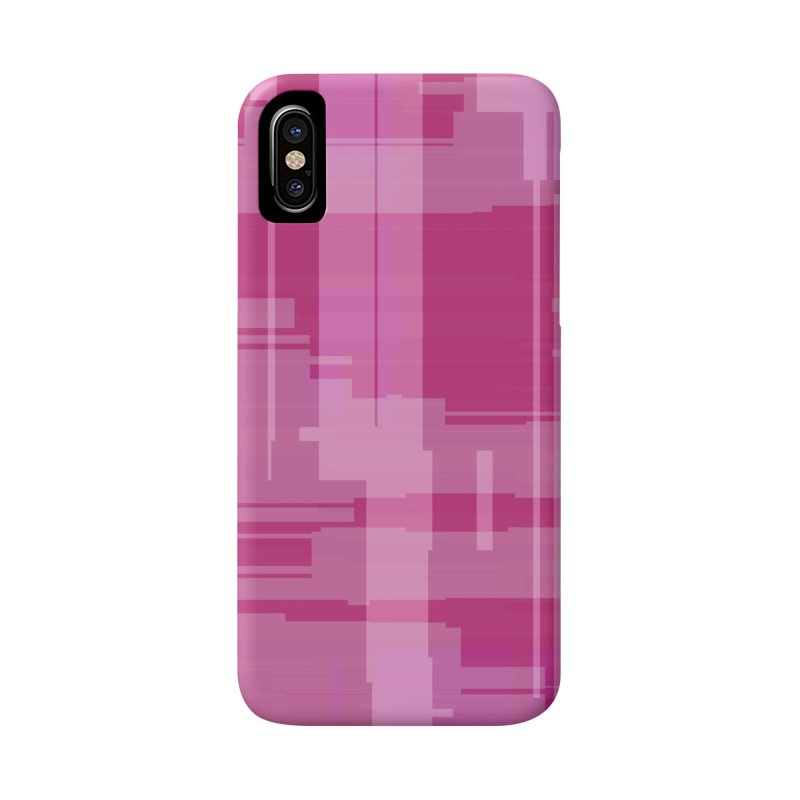 pink abstract Accessories Phone Case by Christy Leigh Creative