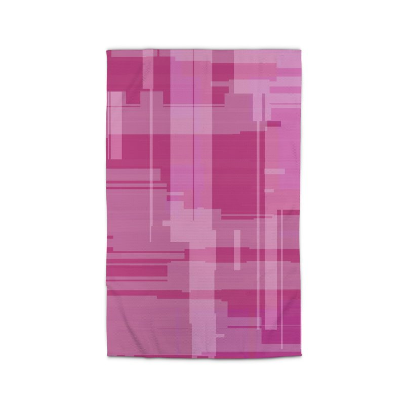 pink abstract Home Rug by Christy Leigh Creative