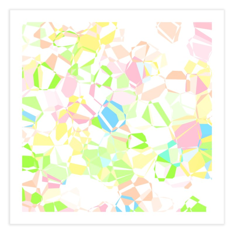 Pastel abstract Home Fine Art Print by Christy Leigh Creative