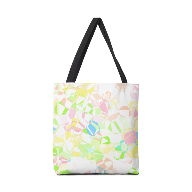 Pastel abstract Accessories Bag by Christy Leigh Creative