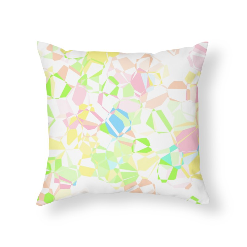 Pastel abstract Home Throw Pillow by Christy Leigh Creative