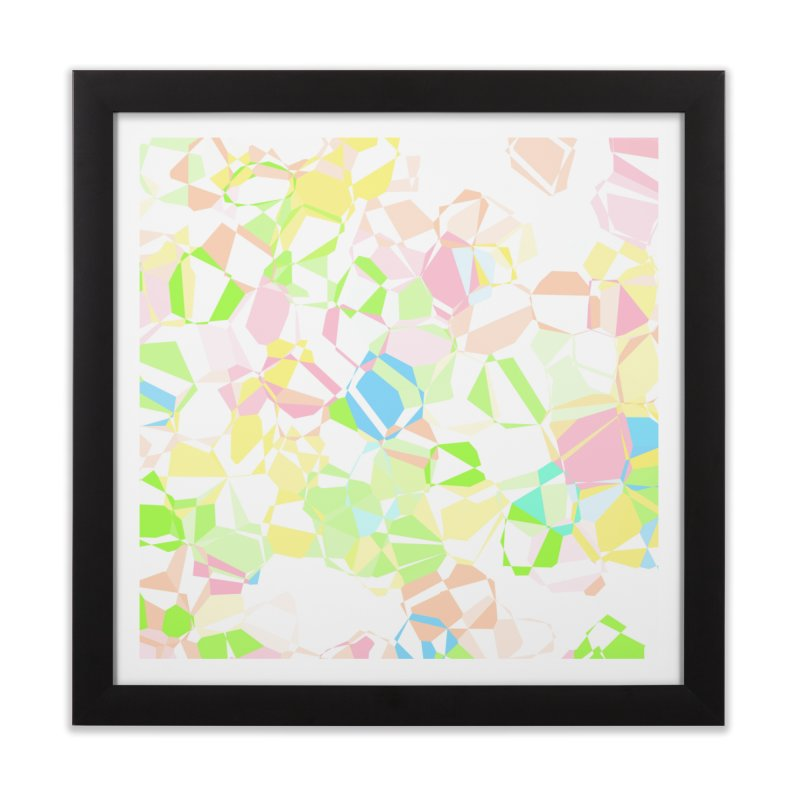 Pastel abstract Home Framed Fine Art Print by Christy Leigh Creative