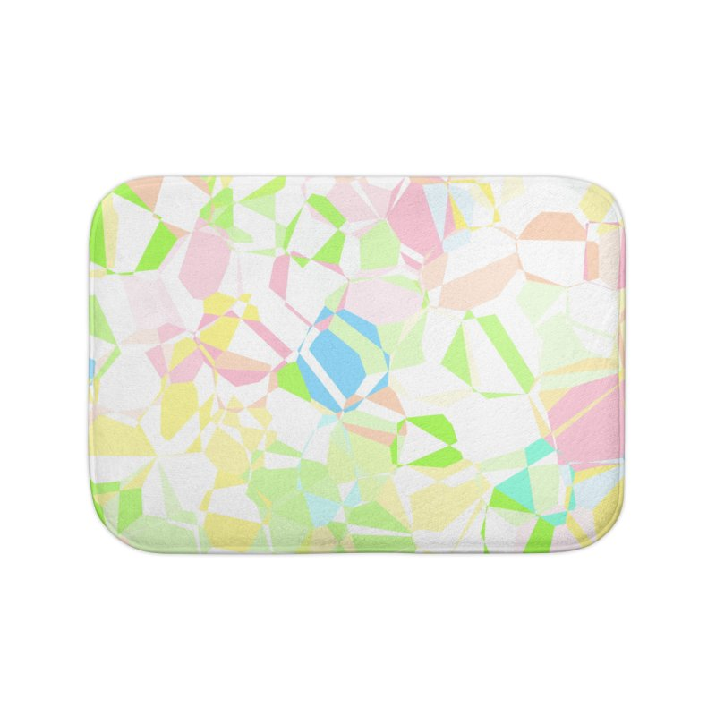Pastel abstract Home Bath Mat by Christy Leigh Creative
