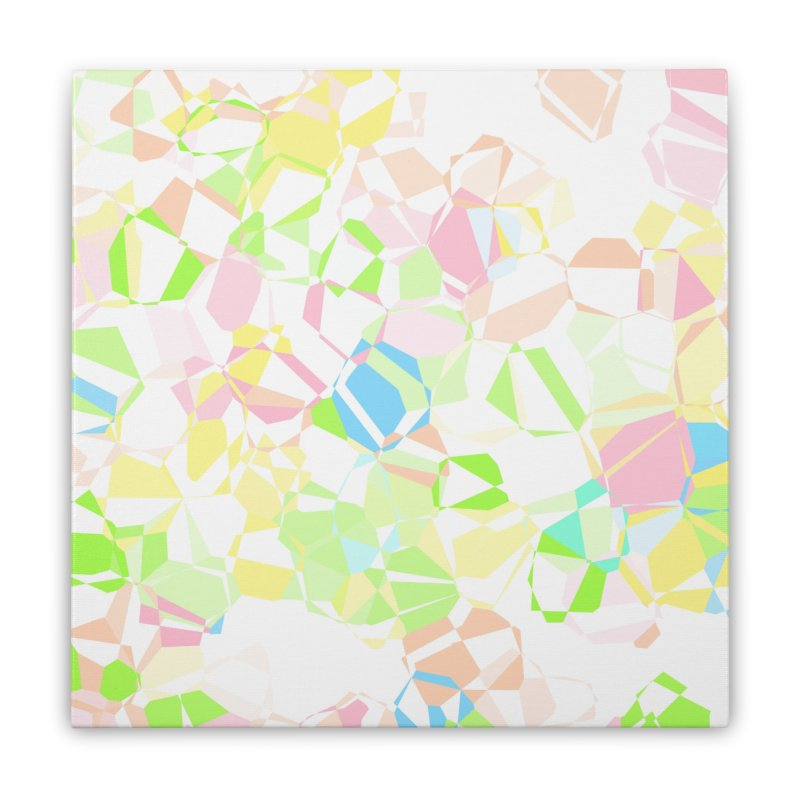 Pastel abstract Home Stretched Canvas by Christy Leigh Creative
