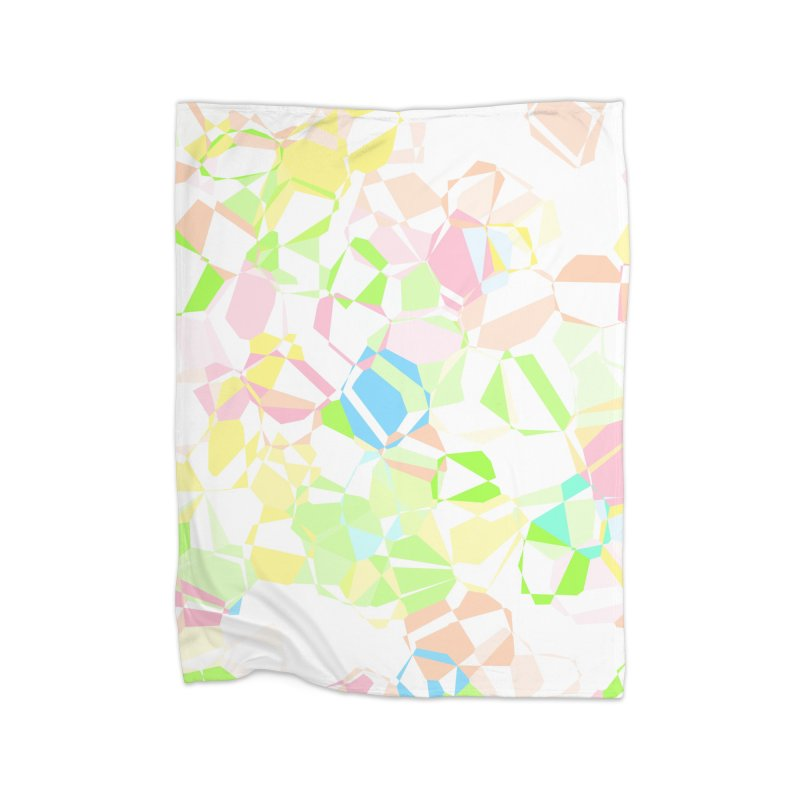 Pastel abstract Home Blanket by Christy Leigh Creative
