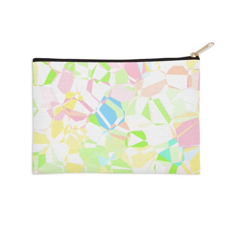 Pastel abstract Accessories Zip Pouch by Christy Leigh Creative