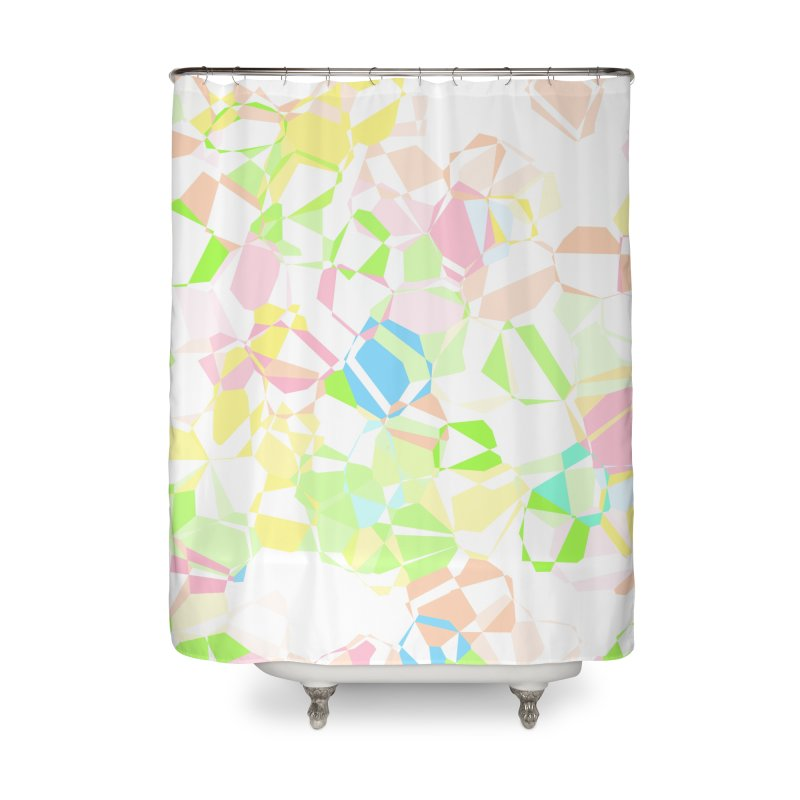 Pastel abstract Home Shower Curtain by Christy Leigh Creative