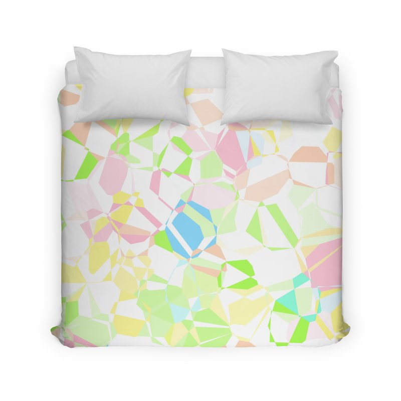 Pastel abstract Home Duvet by Christy Leigh Creative