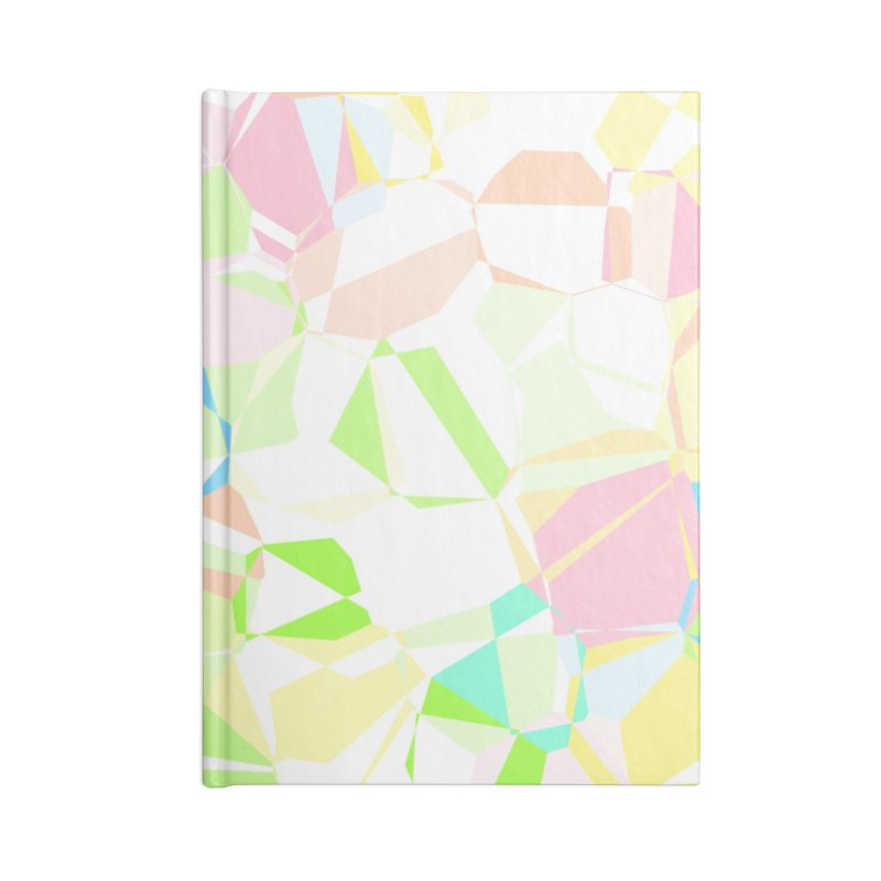 Pastel abstract Accessories Notebook by Christy Leigh Creative