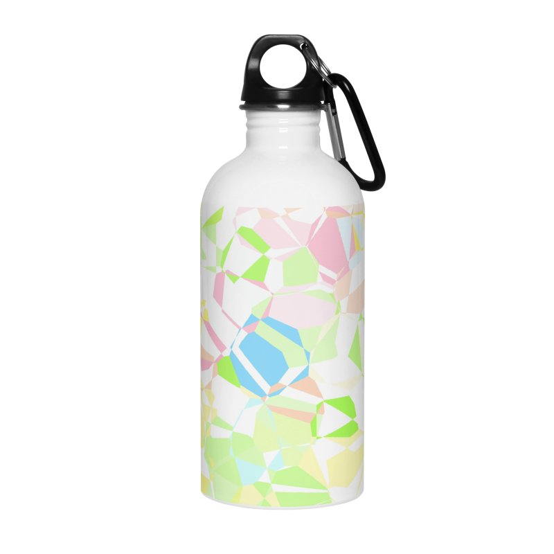Pastel abstract Accessories Water Bottle by Christy Leigh Creative