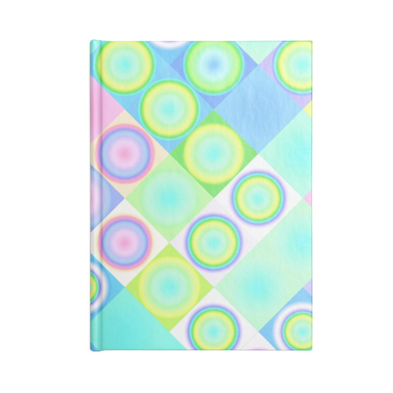 circles and squares Accessories Notebook by Christy Leigh Creative