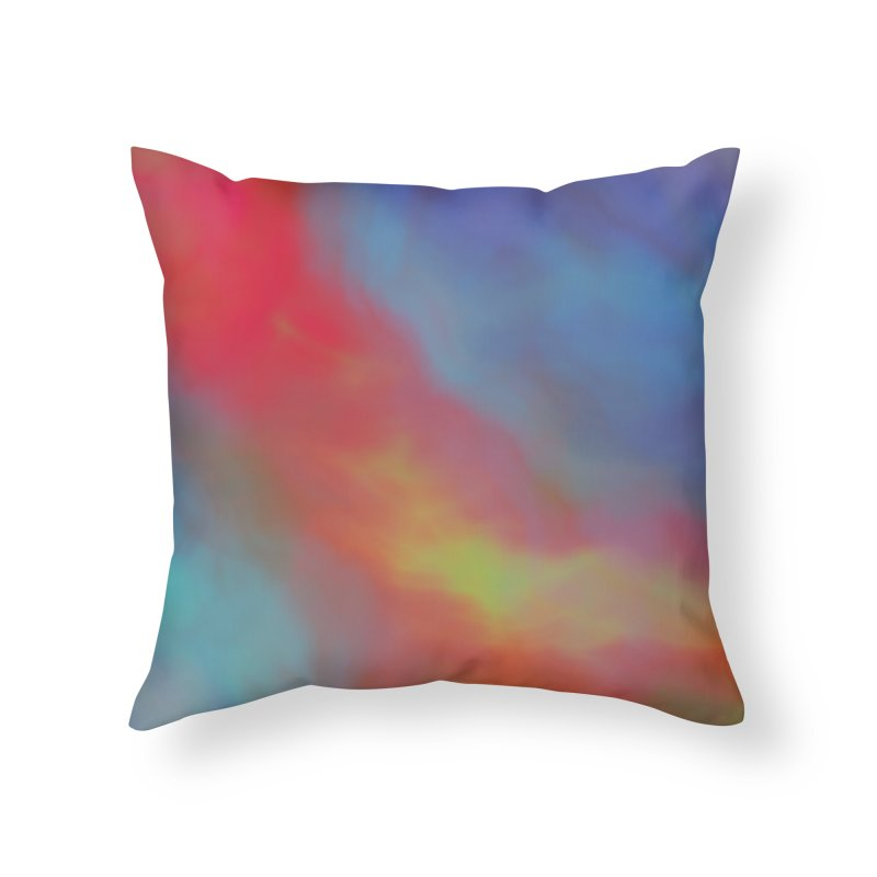 Fire in the Sky Home Throw Pillow by Christy Leigh Creative