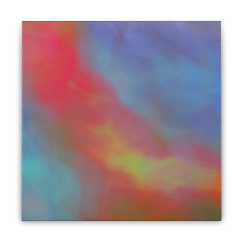 Fire in the Sky Home Stretched Canvas by Christy Leigh Creative