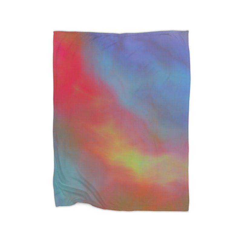 Fire in the Sky Home Blanket by Christy Leigh Creative