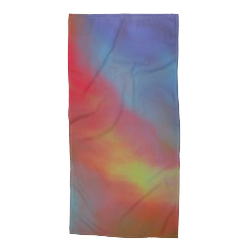 Fire in the Sky Accessories Beach Towel by Christy Leigh Creative