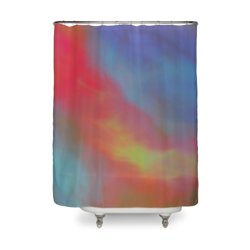 Fire in the Sky Home Shower Curtain by Christy Leigh Creative