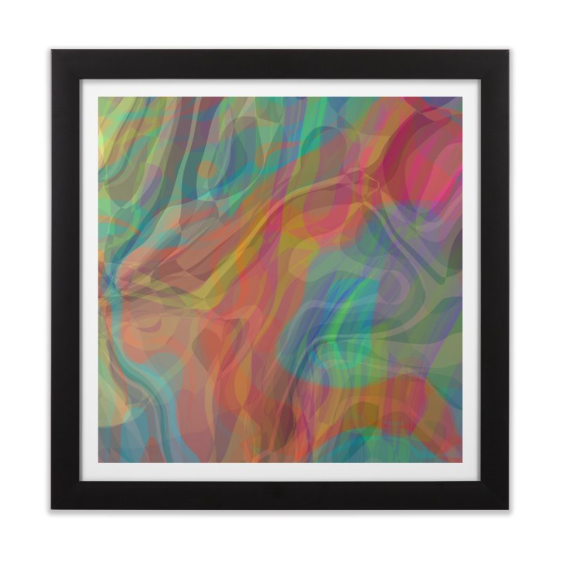 Fire and Ice Home Framed Fine Art Print by Christy Leigh Creative