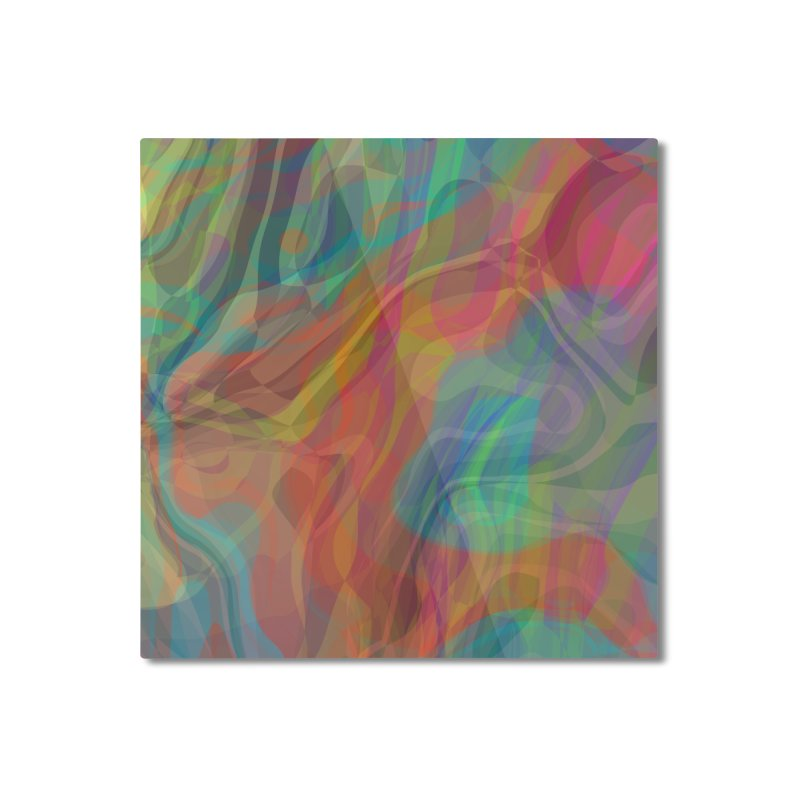 Fire and Ice Home Mounted Aluminum Print by Christy Leigh Creative