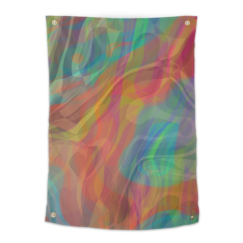 Fire and Ice Home Tapestry by Christy Leigh Creative