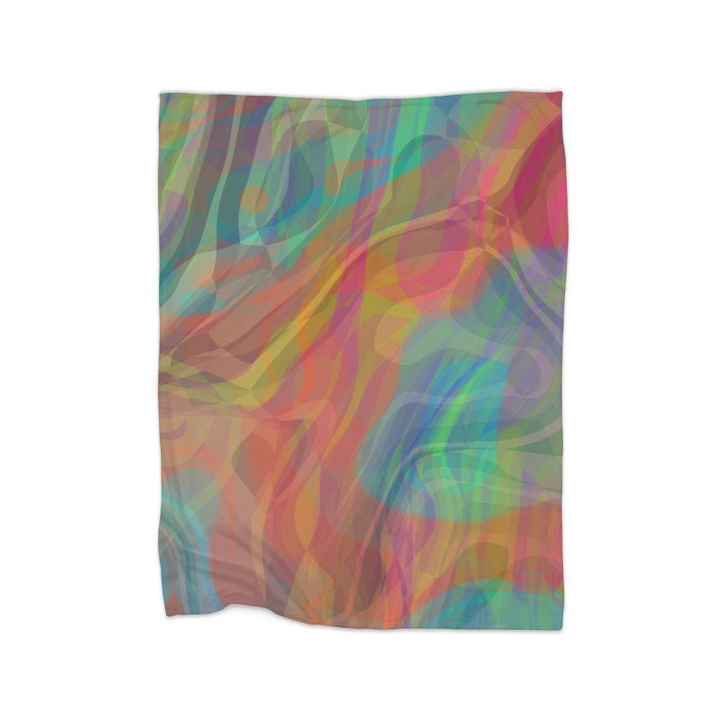 Fire and Ice Home Blanket by Christy Leigh Creative