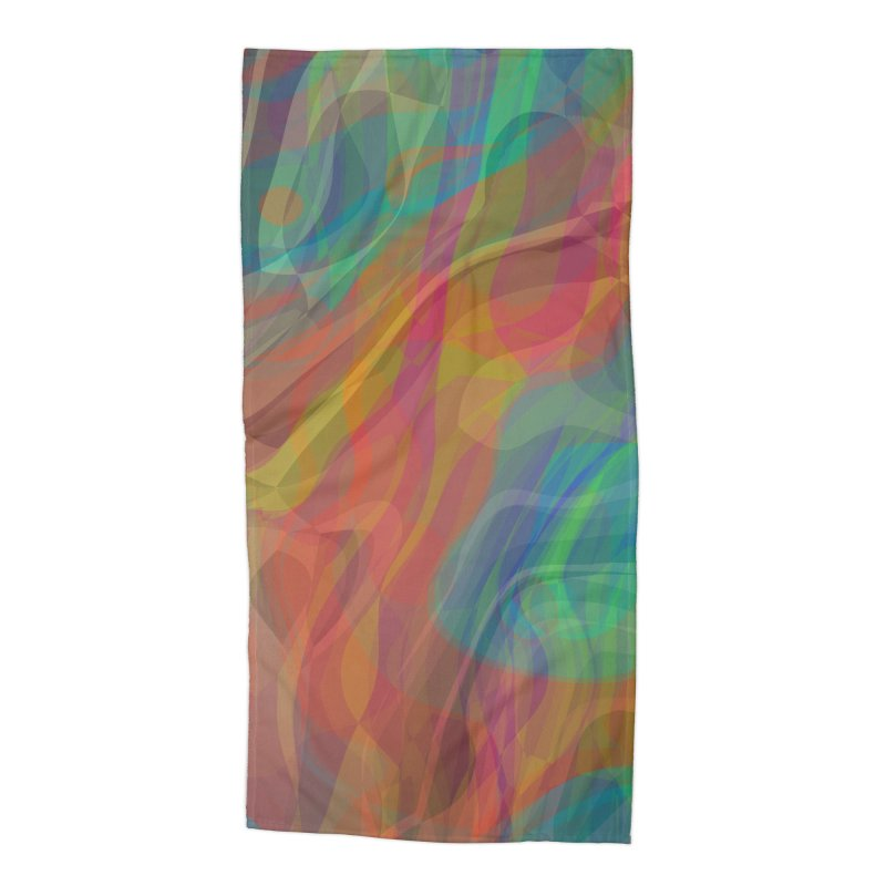 Fire and Ice Accessories Beach Towel by Christy Leigh Creative