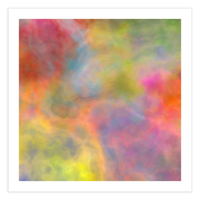 Rainbow Sky Home Fine Art Print by Christy Leigh Creative