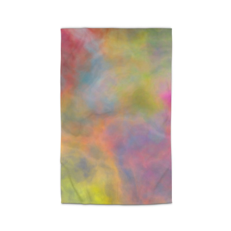 Rainbow Sky Home Rug by Christy Leigh Creative